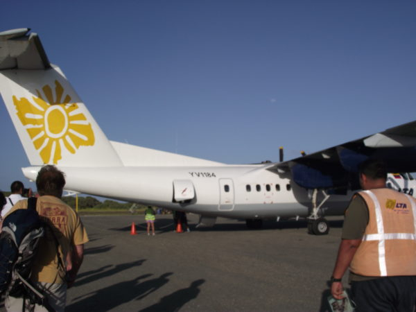 avião da aerotuy