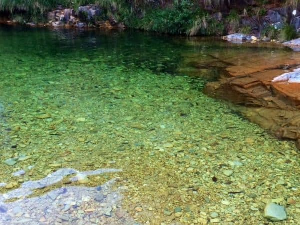Lagoa azul...ou  verde??? Mas é linda!