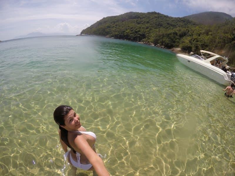 praia de Meros ilha grande