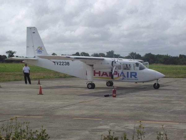 avião da Chapi