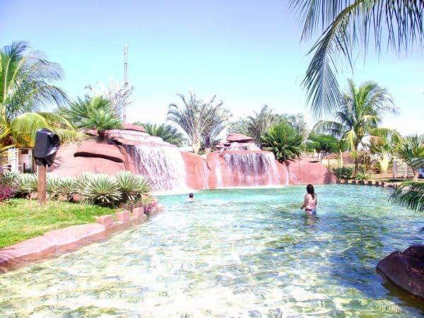 Essa piscina é perfeita!