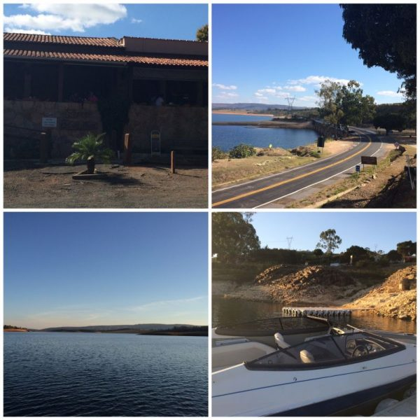 1-Restaurante do rio Turvo 2-Ponte do rio Turvo(direita em cima) 3-Lago de Furnas 4- Lancha do passeio