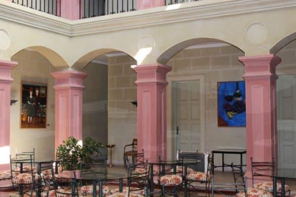 Interior da Casona