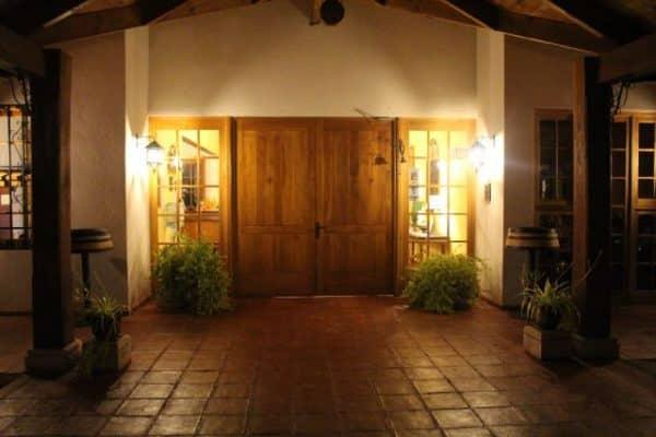 Porta da recepção