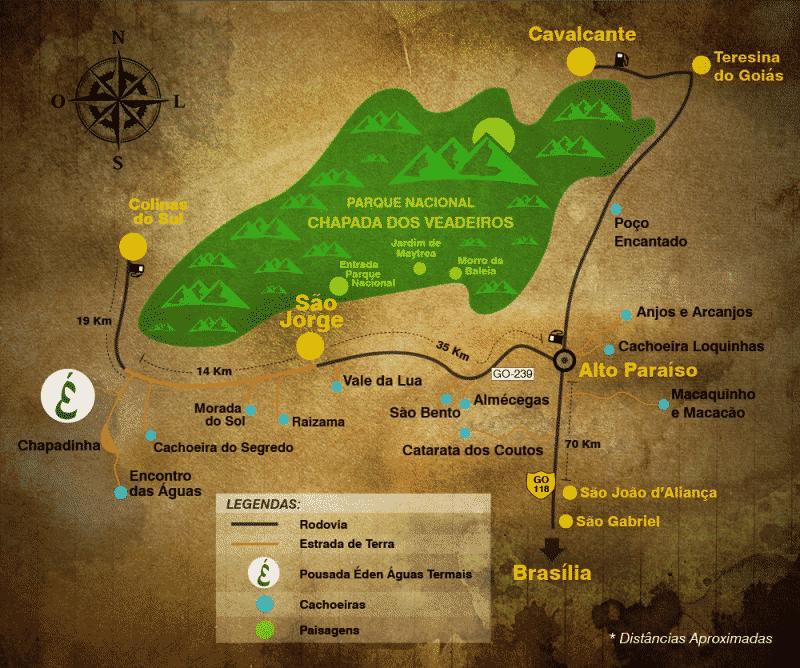 mapa-chapada-dos -veadeiros