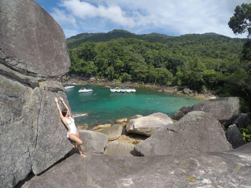 guia de ilha grande  praia de caxadaço