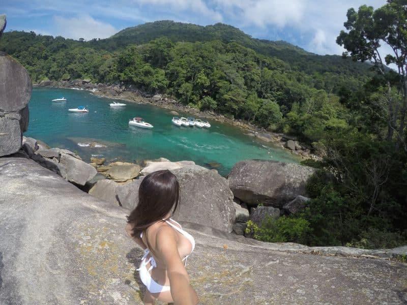 Ilha Grande Passeio volta a ilha praia de caxadaço