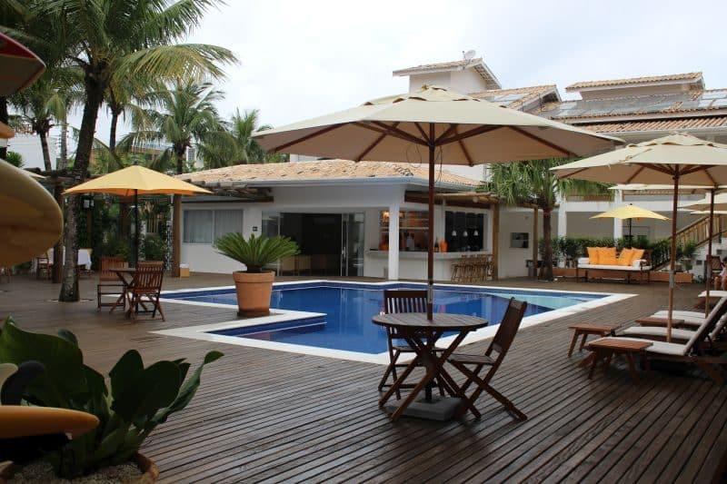 piscina hotel Maui Maresias