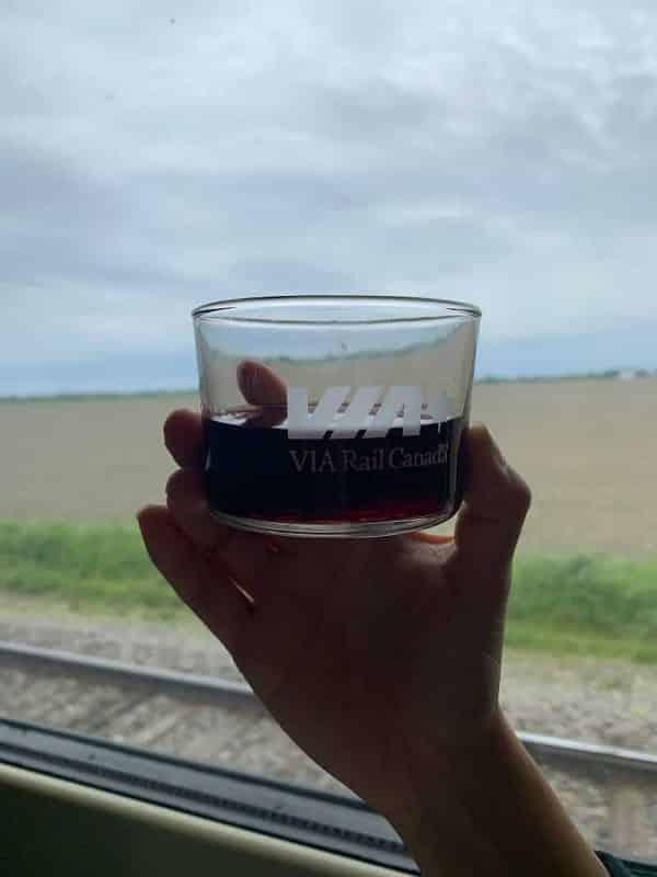 viajar de trem no canada via rail