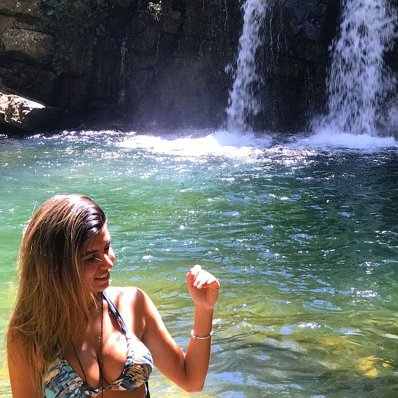 Cachoeira do Bonito em São João d Aliança