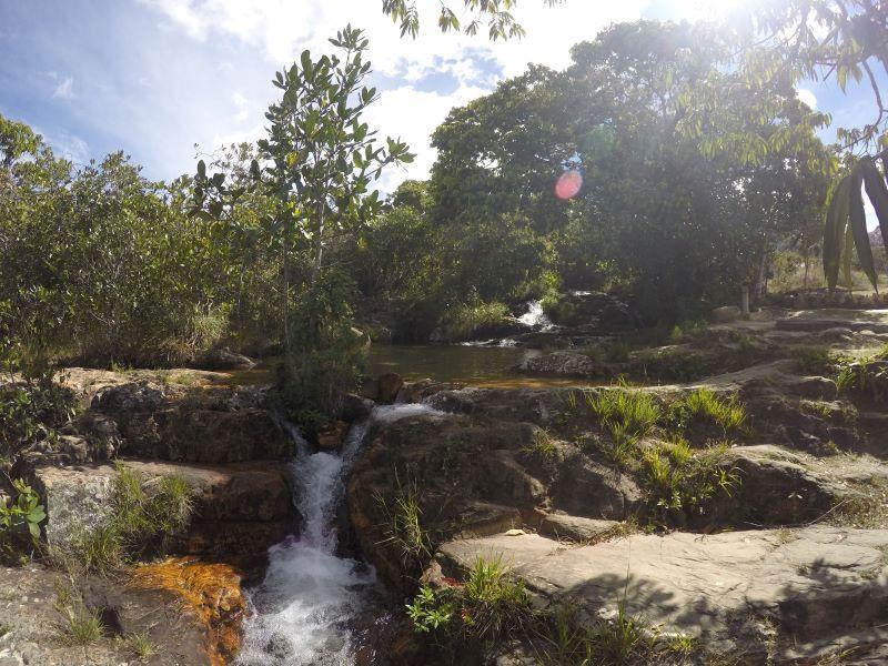 Cachoeira dos Cristais Chapada dos Veadeiros