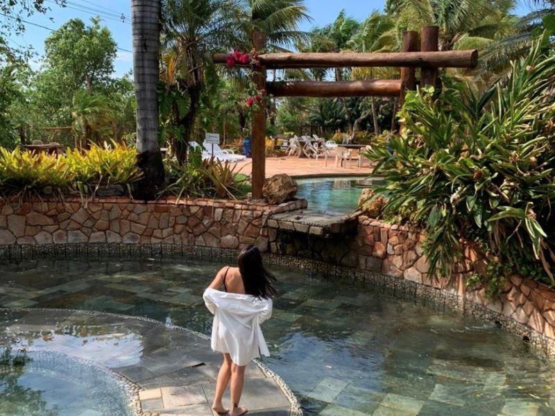 Águas quentes naturais em Minas Gerais 6