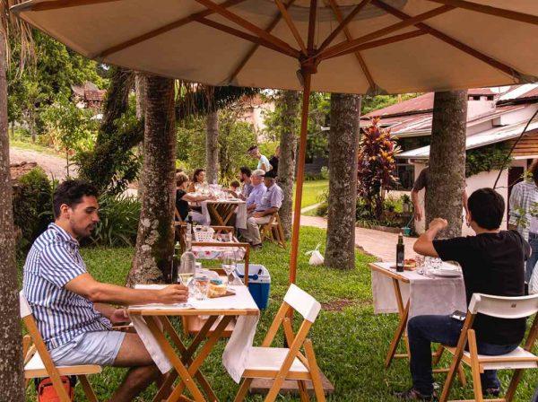 Experiências ao ar livre na Vinícola Cristofoli